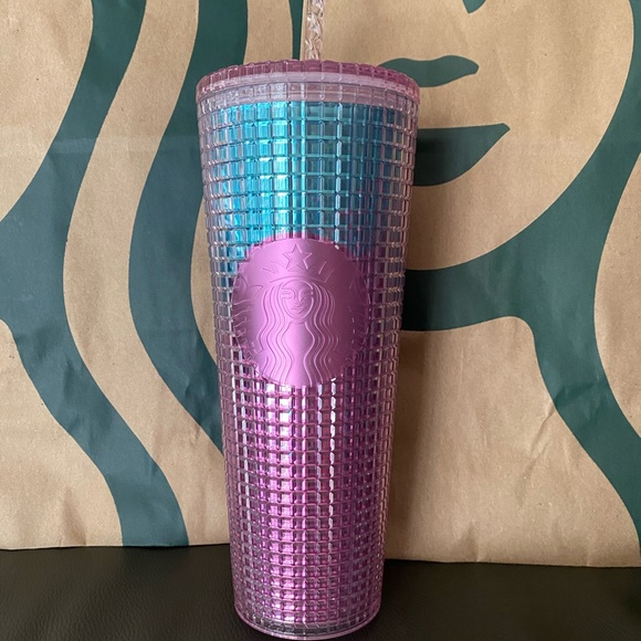 Starbucks Rainbow Grid Tumbler - Summer 2021